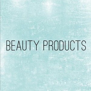 Makeup, skin care, hair products!
